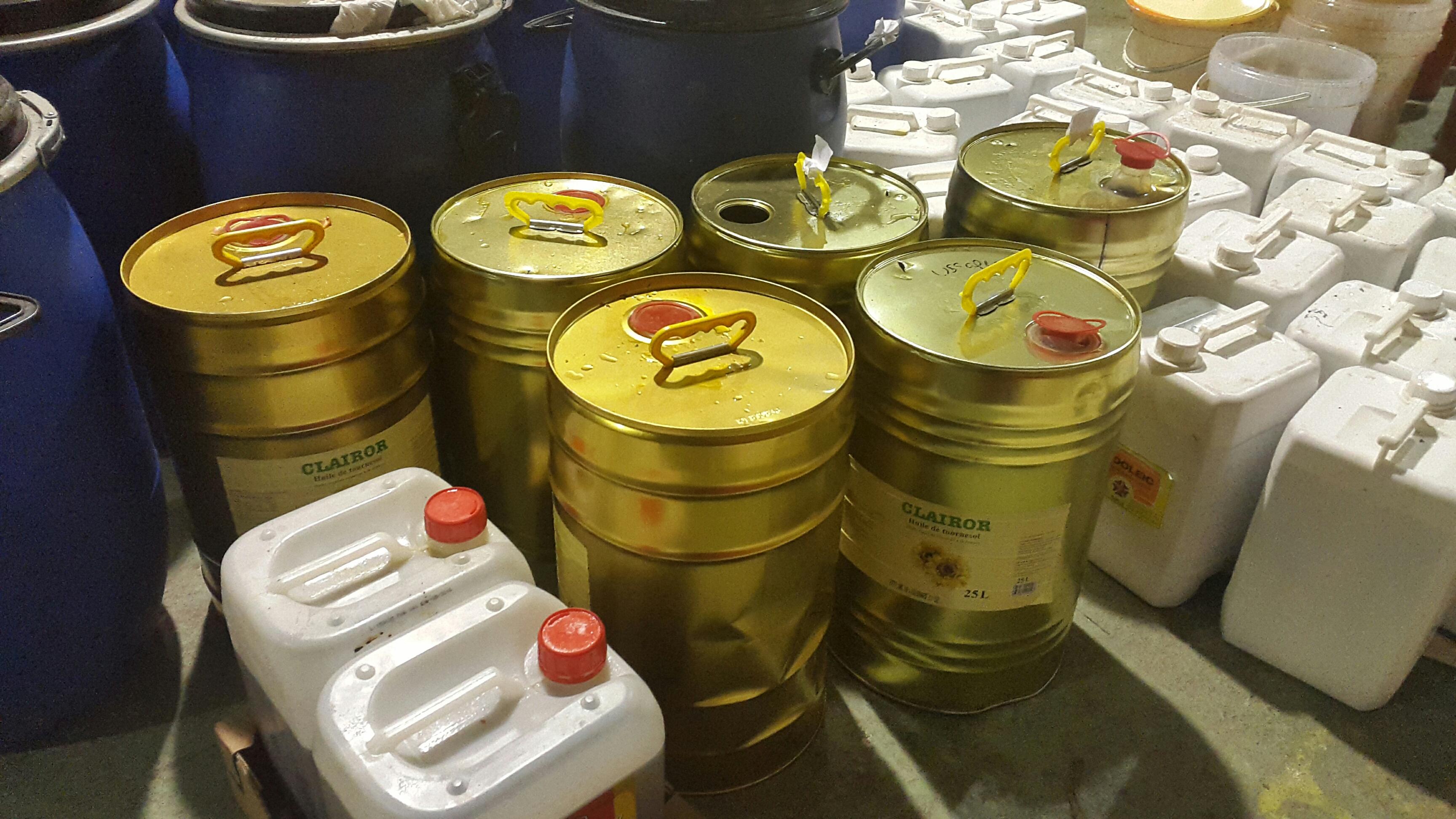 Collecte huile alimentaire usagée